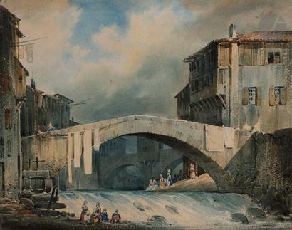 Joseph Vézien DESOMBRAGES (1803-1873) Annonay,...