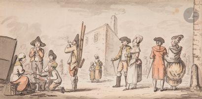 Attribué à Etienne BÉRICOURT (XVIIIe siècle)...