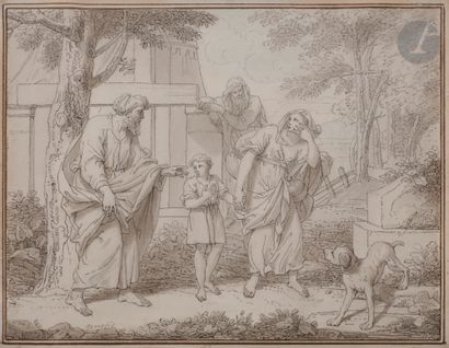 Louis Fabritius DUBOURG (1697-1775) Adam...