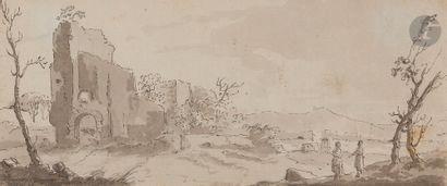 Attribué à Gabriel BOUQUIER (1739 - 1810)...