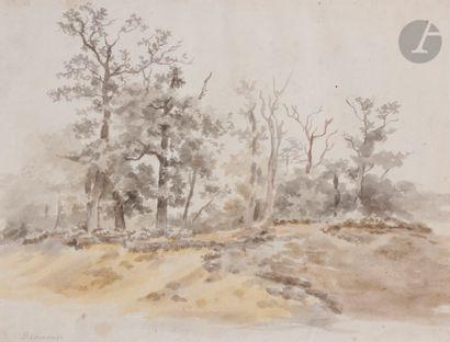 Jean - Louis de MARNE (1752 - 1829) Paysage...