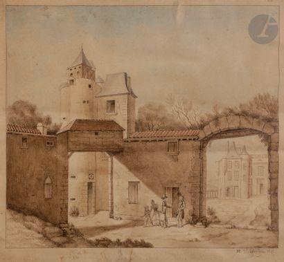 Pierre-Maximilien DELAFONTAINE (1774-1860)...