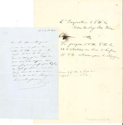 NAPOLÉON III (1808-1873) Empereur. L.A.S....
