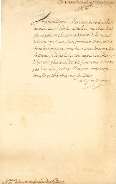 [Marquise de POMPADOUR]. Abel-François Poisson...