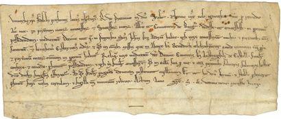 Abbaye de BEAUGERAIS. Charte, juin 1229;...