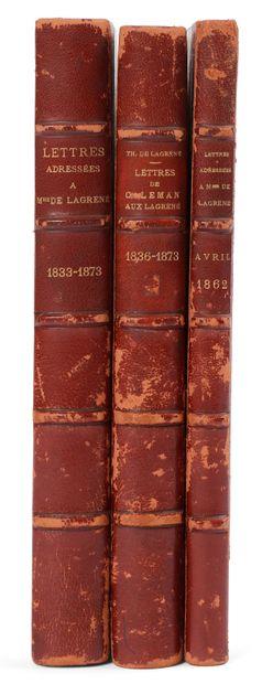 [Théodose, comte de LAGRENÉ (1800-1862) diplomate,...