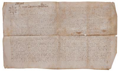 [SAVOIE]. [SAINT-PIERRE-D'ALBIGNY]. Contrat...