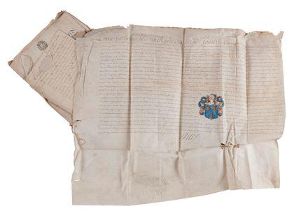 [Gaspard TURPIN, sieur de FONTAINE (1641-1717?)...