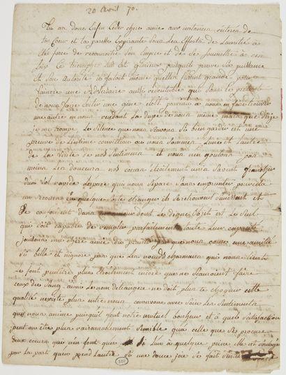Manon Phlipon, Madame ROLAND (1754-1793)...