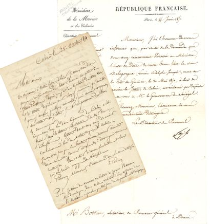 [Adolphe DELEGORGUE (1814-1850) explorateur]....