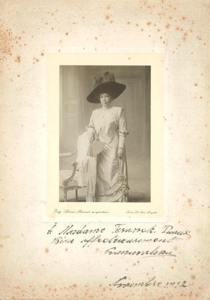 MADAGASCAR. RANAVALONA III (1861-1917) dernière...