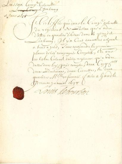 Louis II de Bourbon, prince de CONDÉ (1621-1686)...