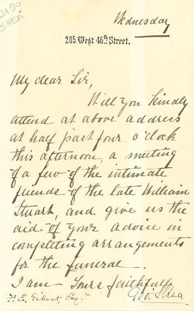 George SHEA (1826-1895) magistrat américain,...