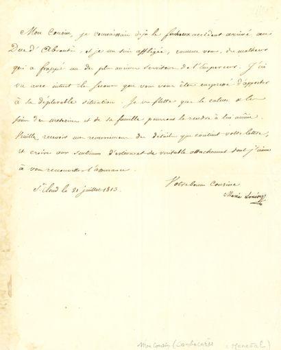 MARIE-LOUISE (1791-1847) Impératrice des...