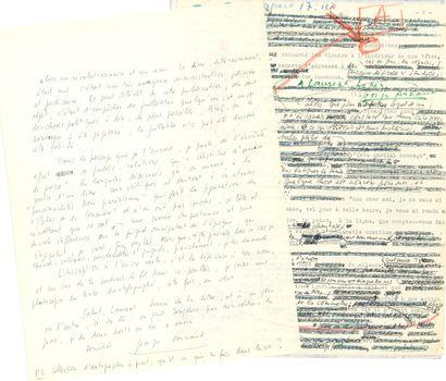 LITTÉRATURE. 35 lettres ou pièces, la plupart...