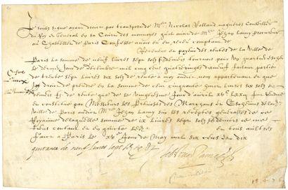 Sébastien ZAMET (1549-1614) trésorier d'Henri...
