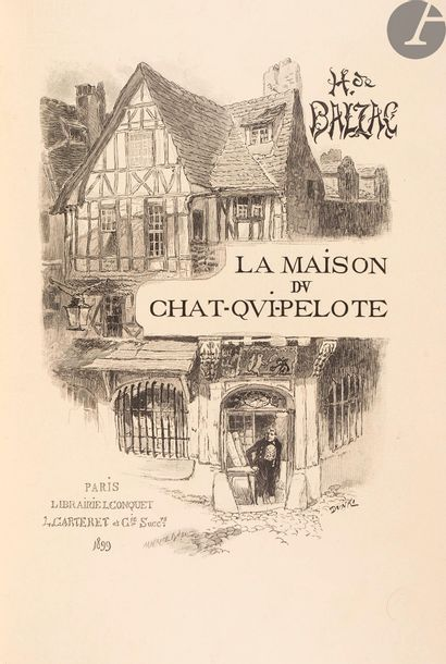 BALZAC (Honoré de). La Maison du chat-qui-pelote....