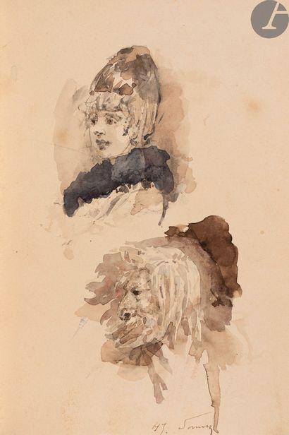 BERGERET (Gaston). Journal d'un nègre à l'exposition...