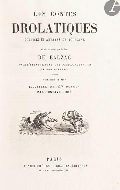 BALZAC (Honoré de). Les Contes drolatiques...