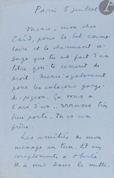 CARCO (Francis). Rue Pigalle. Paris: Bernard...