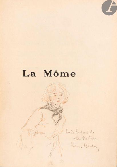 BOUTET (Henri). La Môme. Étude illustrée...