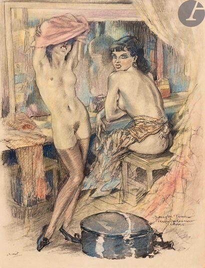 ARTISTES DU LIVRE (Les). Paris: Henry Babou,...