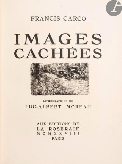 CARCO (Francis). Ensemble de 4 éditions illustrées...