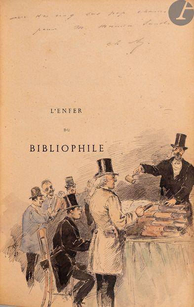 ASSELINEAU (Charles). L'Enfer du bibliophile...