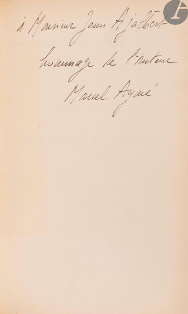 AYMÉ (Marcel). [Œuvres]. 16 volumes in-8...
