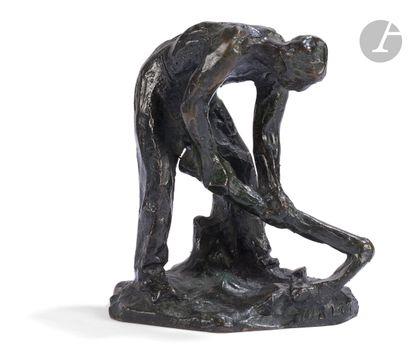 Aimé-Jules Dalou (1838-1902) Bineur Modèle...