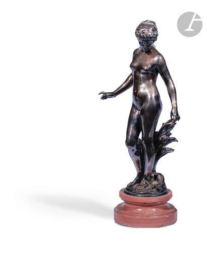 Auguste Moreau (1834-1917) Le réveil Statuette...