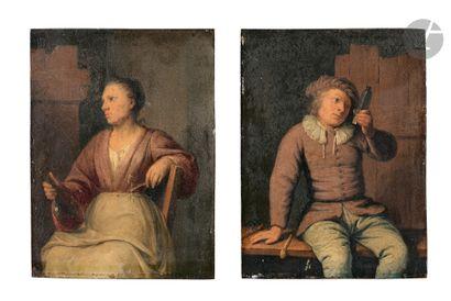 Nicolaes van HAEFTEN (Gorinchem 1678 - Paris...