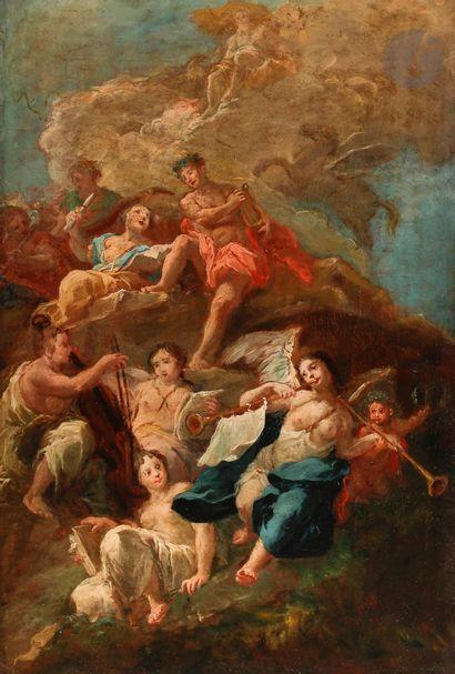 Attribué à Johann Wolfgang BAUMGARTNER (1712...