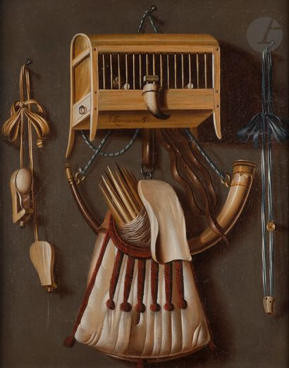 Johannes LEEMANS (La Haye 1633 - 1688) Corne...