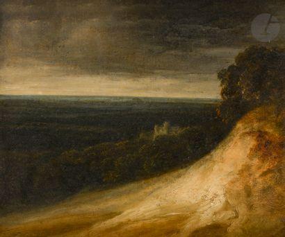 Georges MICHEL (Paris 1763 - 1843) Paysage...