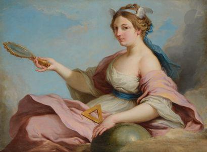 Jacques DUMONT, dit LE ROMAIN (Paris 1701 - 1781) Allégorie des sciences; Allégorie...