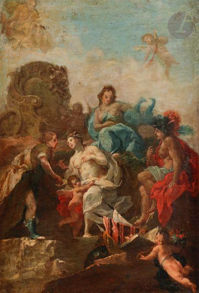 Attributed to Johann Wolfgang BAUMGARTNER (1712 - 1761) The Muses; Mars and Venus...