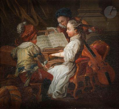École FRANÇAISE de la fin du XVIIIe siècle,...