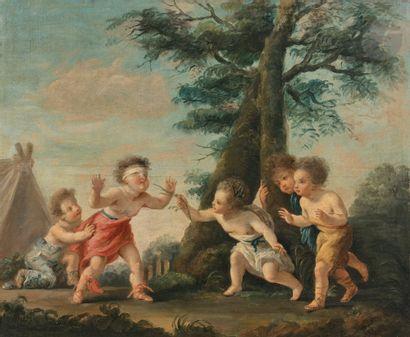 École FRANÇAISE du XVIIIe siècle, atelier...