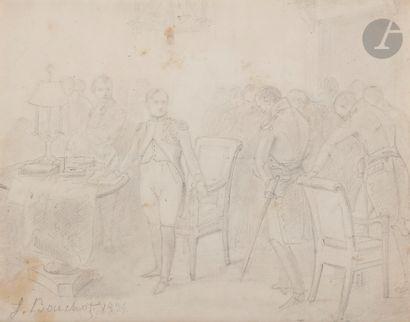 François BOUCHOT (1800-1842). École française....