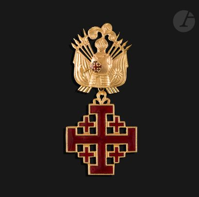 VATICAN ORDRE DU SAINT SÉPULCRE Croix de...