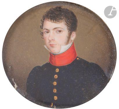 Charles François MULLER (1789-1855). Portrait...