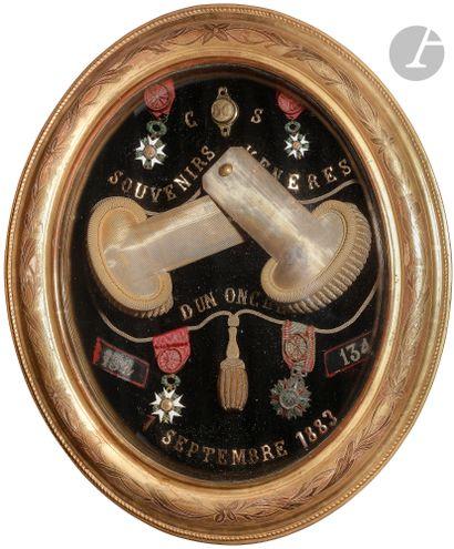 FRANCE Souvenirs du Chef de bataillon Calixte...
