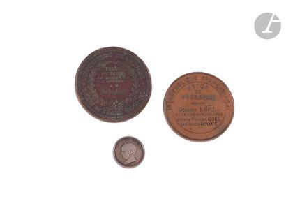 SECOND EMPIRE - 1870 - Jeton commémoratif...