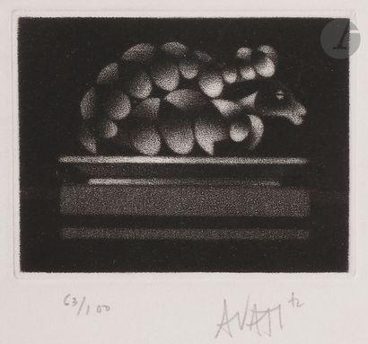Mario Avati (1921-2009) Nature morte. 1972;...