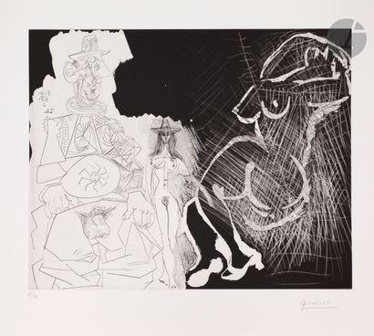 Pablo Picasso (1881-1973) Caricature du général...