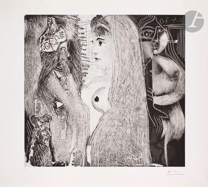 Pablo Picasso (1881-1973) David, Bethsabée...