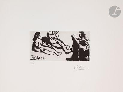 Pablo Picasso (1881-1973) Peintre, ou écrivain,...