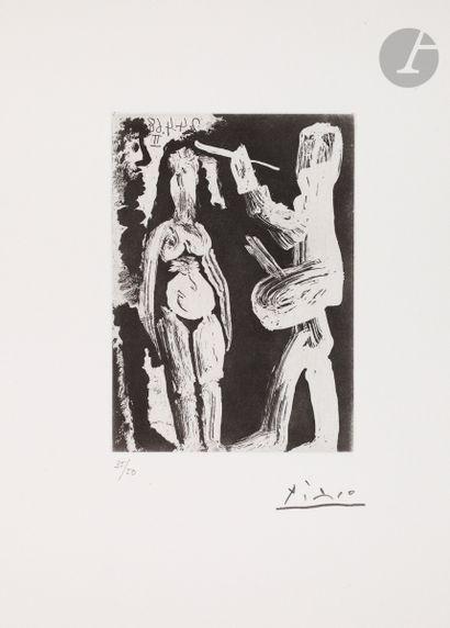 Pablo Picasso (1881-1973) Peintre, modèle...