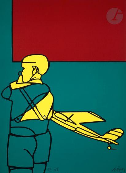 Valerio Adami (italien, né en 1935) Zurich....